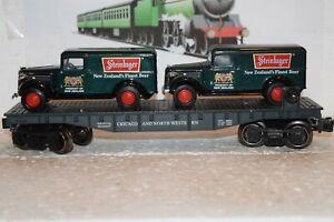 O Scale Trains Menards Chicago Northwestern Flat Car w/1937 GMC