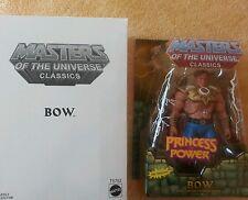 Bow seconda edizione 2nd MOTU MASTERS OF THE UNIVERSE CLASSICS MOTU HE MAN NUOVO OVP