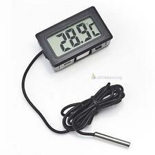 PO//Thermomètre LCD numérique pour Réfrigérateur Congélateur Température -50~110