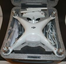 DJI PHANTOM 4 DRONE with 4K 1080HD CAMERA, REMOTE, CHARGER, BLADES, AND CASE