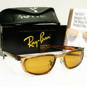 Authentic Ray-Ban Bausch Lomb Vintage 1995 Sunglasses Spinal Tap Brown W2665