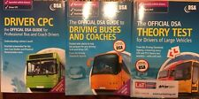 Official DSA Books For Drivers Of Large Vehicles (3 Books) great condition