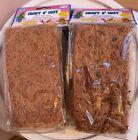 X's 2 Coco Coconut Fiber Tropical Comfy Cozy Nest Nesting Box Material Bed Bird