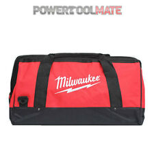 "Milwaukee M18 28"" Canvas Contractors Heavy Duty Carry Tool Bag M18BAG"