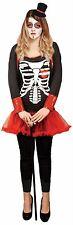 Day of the Dead Women's Halloween Fancy Dress Costume