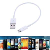 Short Quick Charge USB Data Sync Charging Cable for Android Mobile Phone #Y