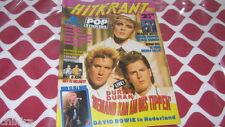 HITKRANT 16 1987 DURAN DURAN SPANDAU BALLET BON JOVI BEASTIE BOYS MEL & KIM