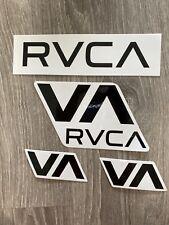 New listing RVCA sticker Lot surfing surf surfboard skateboard snowboard industry Decal