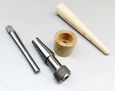 Rathburn Ring Stretcher Sizer & Ring Mandrel Wood Tapered Jewelry Making Tools
