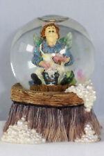 Boyds Wee Folkstone Mini Globe, Immaculata Faerieburg, #393003, 1st Ed, New