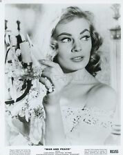 ANITA EKBERG WAR AND PEACE 1956 VINTAGE PHOTO ORIGINAL #2