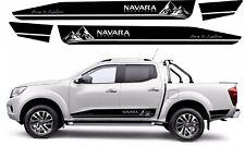 Fits Nissan NP300 NAVARA 2016-20 side stickers Decals NAVARA EXPEDITION