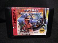 Lethal Enforcers Sega Genesis Game Cart Only Free Shipping