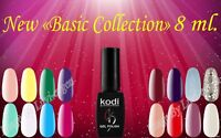 "Kodi Professional New ""Basic Collection"" 8 ml Gel LED UV Nail Polish"