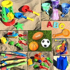 Kids Beach Toys Sand Pit Water Mill Play Set Bucket Ball Frisbee Nursery School