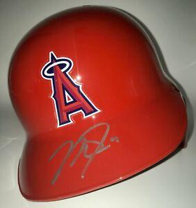 Mike Trout Autographed Full-Size Angels Batting Helmet