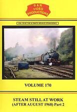 B&R No 170 Dvd: Steam Still At Work Part 2: SVR KWVR Tyseley Longmoor Bath Road