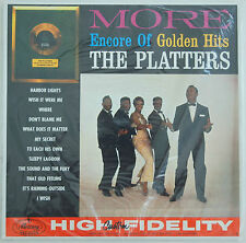 The Platters - More Encore of Golden Hits. Canadian Mono LP Still Sealed!!