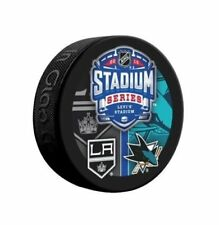 2015 STADIUM SERIES LOS ANGELES KINGS VS SAN JOSE SHARKS SOUVENIR PUCK