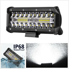 "6"" 120W 12000LM Car Off-Road Driving Fog Lights Spot Flood Combo LED Work Light"