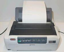 OKI MicroLine 5720 ML5720 9 Pin Dot Matrix Printer USB Parallel Model No D22540B