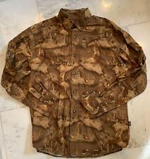 Cabela's Pheasant Hunting Long Sleeve Button Down Shirt - Medium Mens Cotton