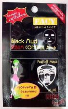 FACY Black Mud SEBUM CONTROL Mask Peel-off Mask with Aloe Vera and Seaweed 10ml