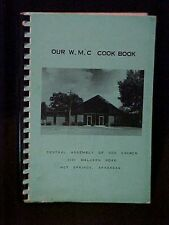 Central Assembly of God Church, Our W.M.C. Cookbook, Hot Springs AR