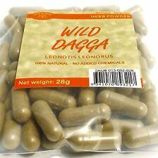 WILD DAGGA 70 capsules 28 grams Leonotis leonurus herb powder 400mg caps.