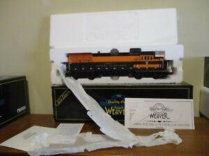 Weaver U25B Diesel Locomotive GREAT NORTHERN id# 1336-LP; 3 rail ; In orig. box