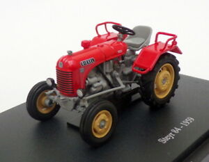 Hachette 1/43 Scale Model Tractor HT028 - 1959 Steyr 84 - Red