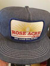 Vintage Rise acres Egg Denim Patched Trucker Hat patch Snapback K-PRODUCTS