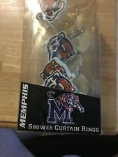 University of Memphis Tigers Shower Curtain Hooks New Closeout Last Set