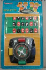 Vintage Blue Box Sealed Mini Game Series Roulette NO.77928 Made in Hong Kong