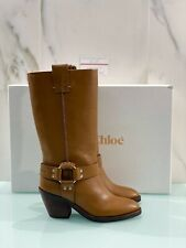 Stivaletto Texano See By Chloe' Donna In Pelle Savana Luxury Texan Boot 38