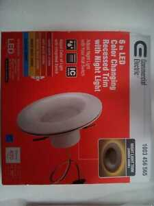 6 '' Selectable CCT Recessed Light Trim Dimmable by Commercial Electric