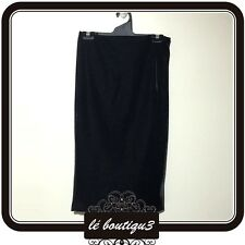 BARDOT Midi Skirt Black Size 10 (B 3)