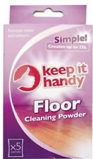 Floor Cleaning Powder Surface Sachets Helps Remove Stains & Odours Home Office