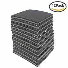 Amariver Non Slip Furniture Pads Grippers, 12 Pcs Self-adhesive Rubber Feet