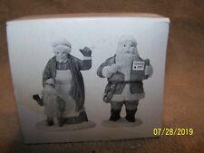 "Heritage Village Collection ""Santa & Mrs.Claus"" Set Of 2-# 5609-0 Adorable"