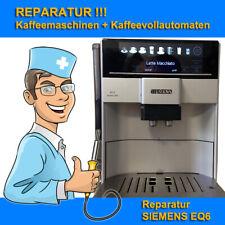 Reparatur Kaffeemaschine SIEMENS EQ6 Series 300, 400, 700