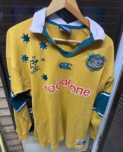 061 Australia Wallabies 2000 Vodafone Rugby Union Jersey CCC Mens