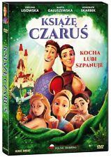 Książę Czaruś DVD PL Bajki Szybka Wysyłka z Polski
