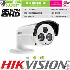 Hikvision DS-2CD2232-I5 3MP 4MM 1080P 50M IR cámara de red IP POE ONVIF Exir