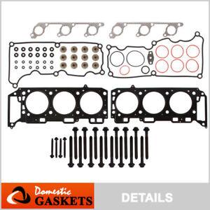Fits 05-10 Ford Mustang 4.0L V6 SOHC Head Gasket Set Bolts VIN N