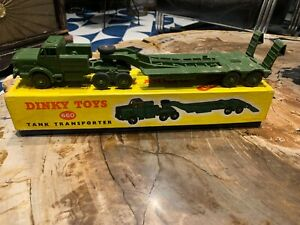 DINKY TOYS, Tank Transporter, 660, Boxed, Vintage,1960s, Made in England