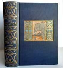 Mark Twain First Edition 1897 FOLLOWING THE EQUATOR Illustrated World Travel