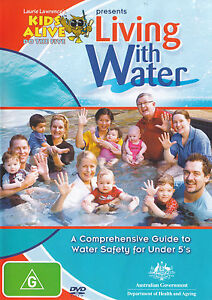 Living With Water DVD Swimming Safety For Children Under 5 Five Learn To Swim R4