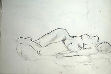 Raphael Soyer       Sleeping Nude