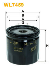 WIX WL7459 Car Oil Filter - Spin-On Replaces W7008 PH10044 OC1051
